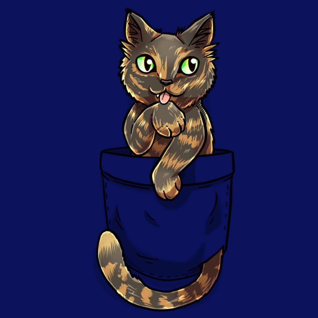 NeatoShop: Pocket Cute Tortoiseshell Cat