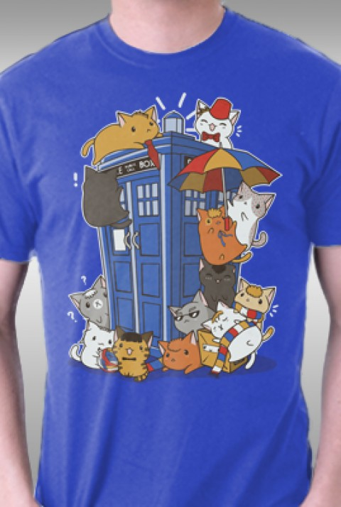 TeeFury: Kitten Who