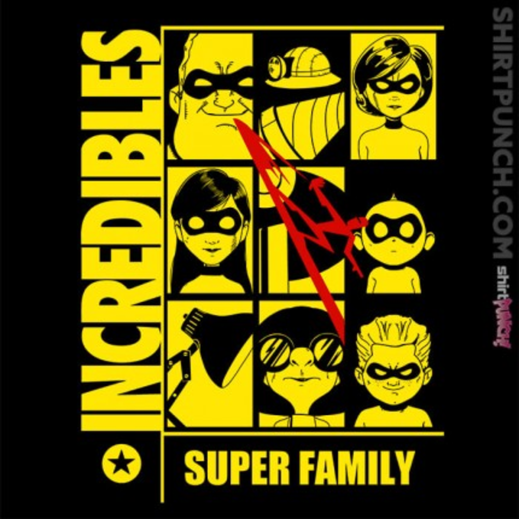 ShirtPunch: Who Watches The Family