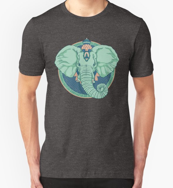 RedBubble: An Elephant Never Forgets