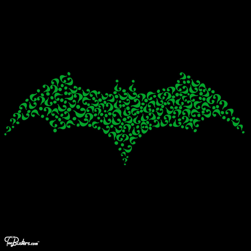 TeeBusters: Riddle Me This, Batman
