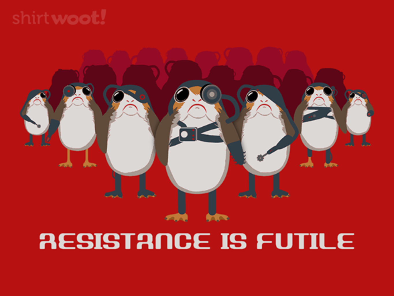 Woot!: Resistance is Futile