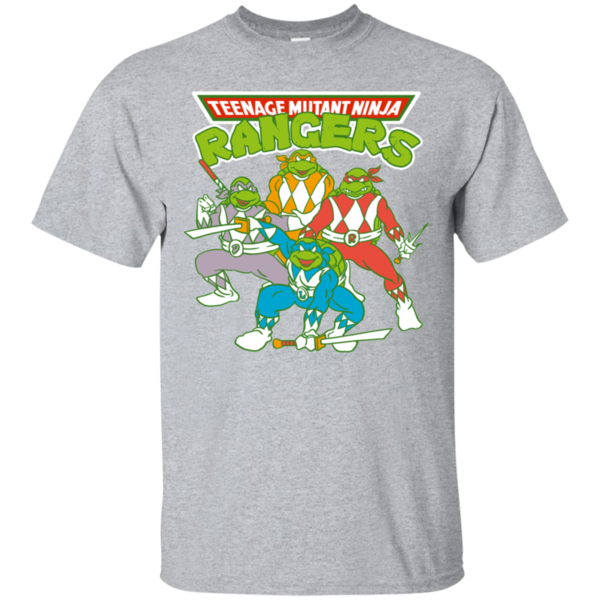 Pop-Up Tee: Teenage Mutant Ninja Rangers