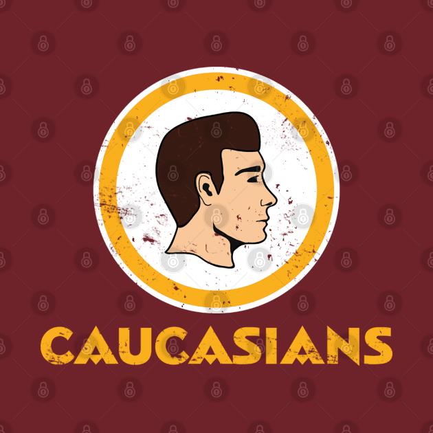 TeePublic: Caucasians