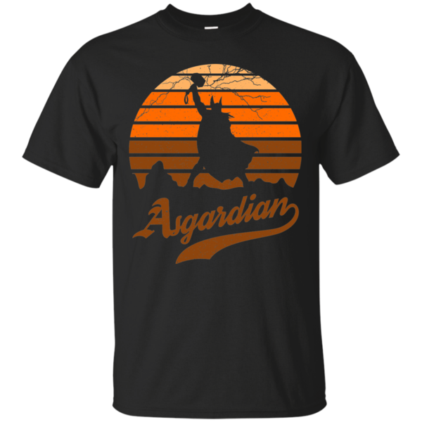 Pop-Up Tee: Asgardian Sun Set