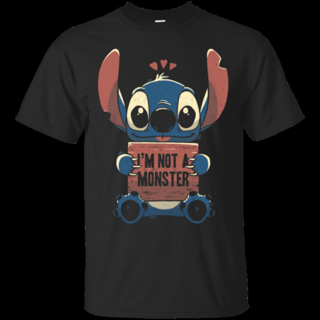 Pop-Up Tee: Stitch Not a Monster