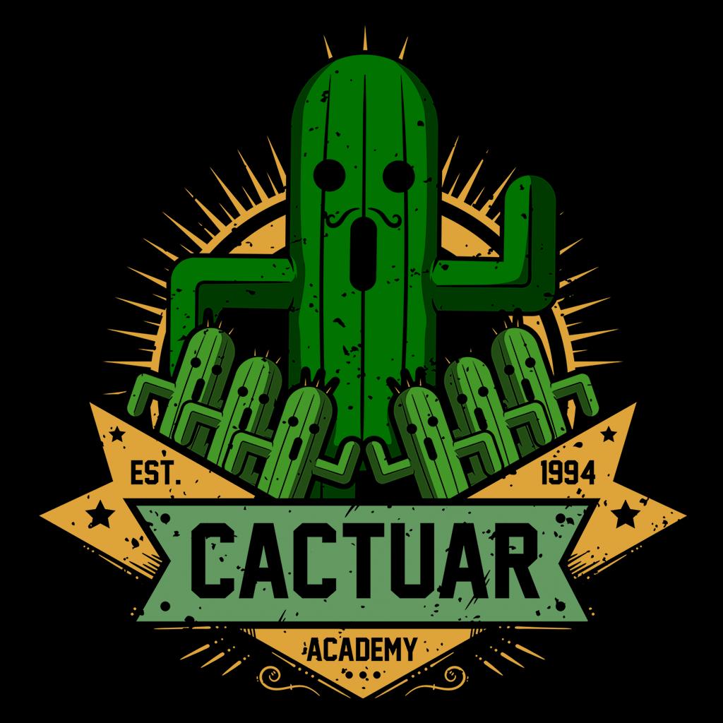 Pop-Up Tee: Cactuar Academy