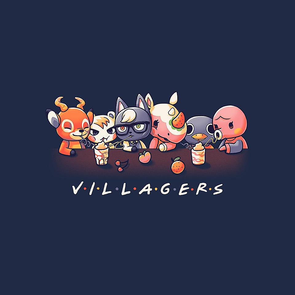 TeeFury: Villagers