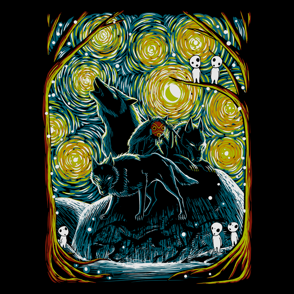 Pop-Up Tee: Starry Forest