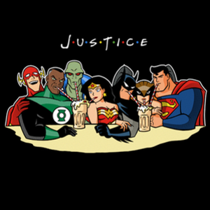 Qwertee: Justice Friends