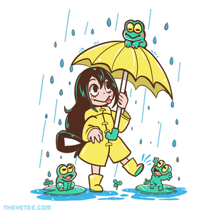 The Yetee: Best Frog Girls
