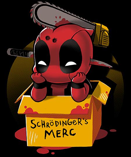 Qwertee: Schrödinger's Merc