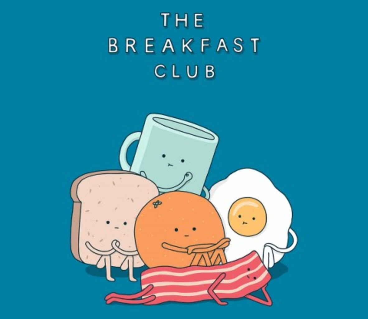 TeeFury: The Breakfast Club