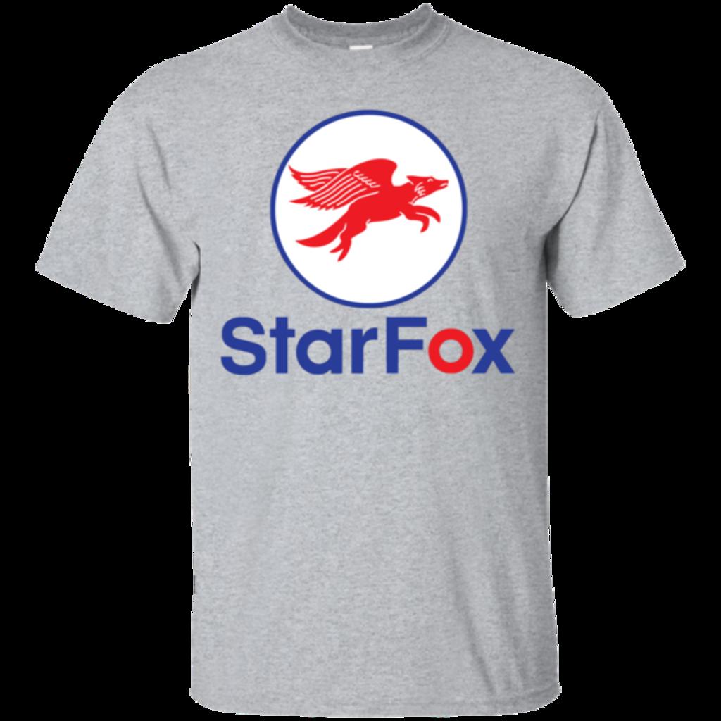 Pop-Up Tee: Starfox