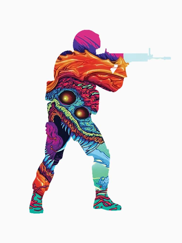 RedBubble: Hyper Beast CSGO