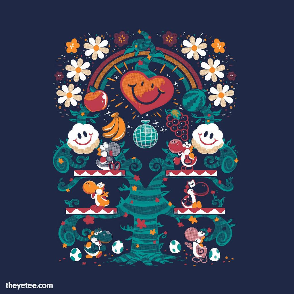 The Yetee: Super Happy Tree!