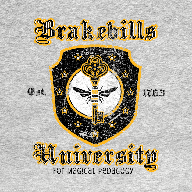 TeePublic: Brakebills University (Distressed)