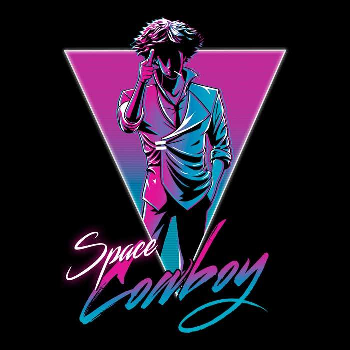 Once Upon a Tee: Neon Cowboy