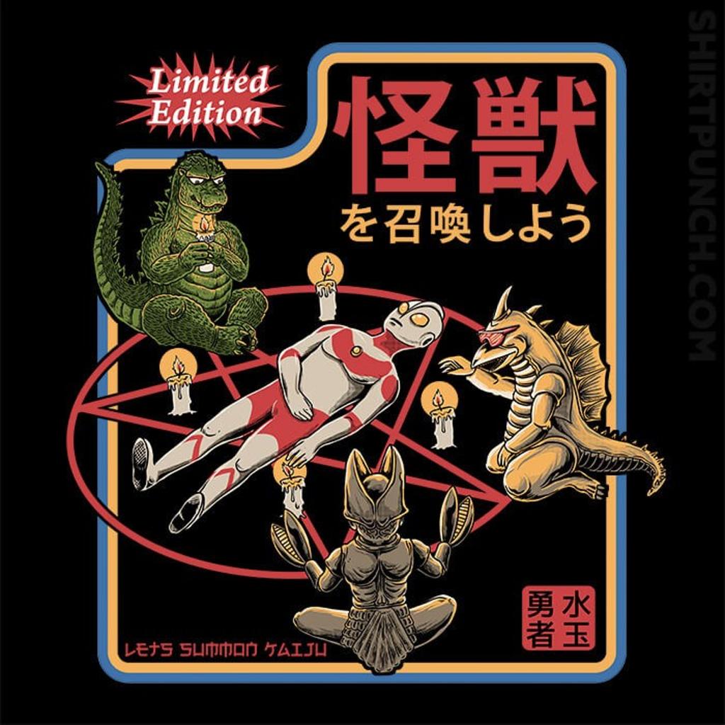 ShirtPunch: Let's Summon Kaiju