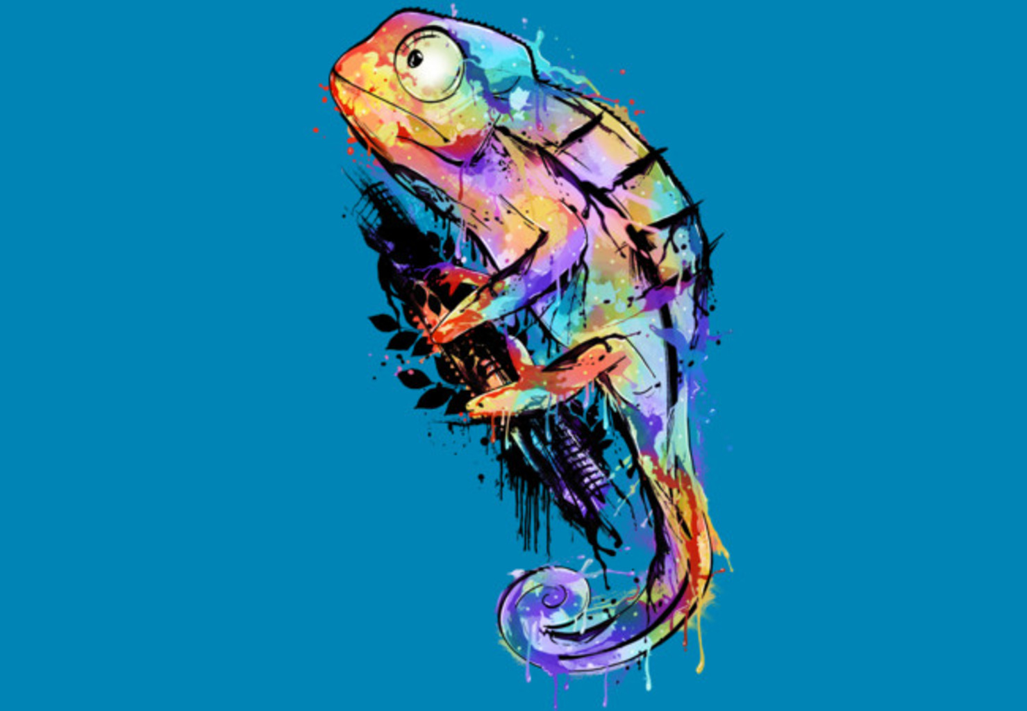Design by Humans: chameleon