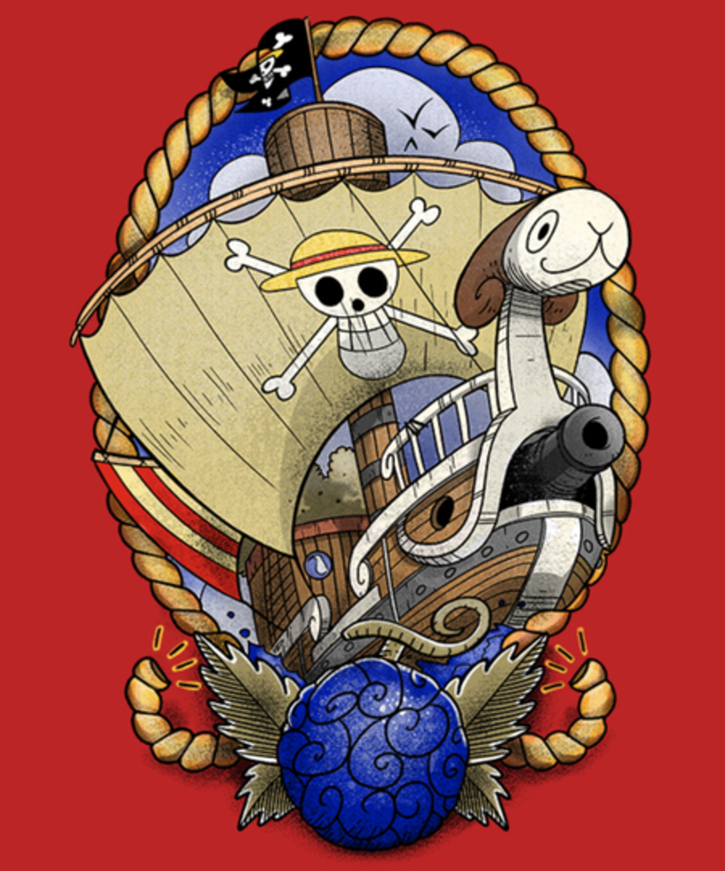 Qwertee: Old School's Sailing ship
