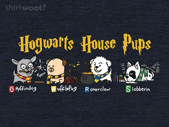Woot!: Hogwarts House Pups