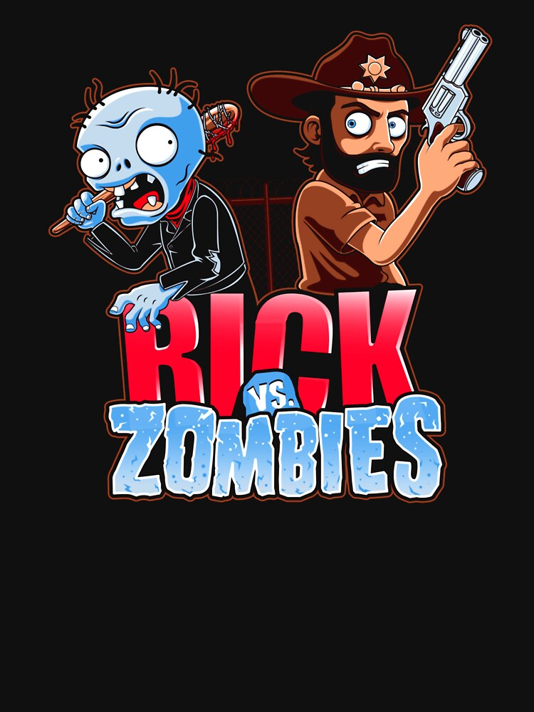 RedBubble: Rick Vs Zombies