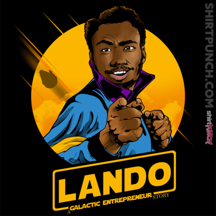 ShirtPunch: Galactic Entrepreneur