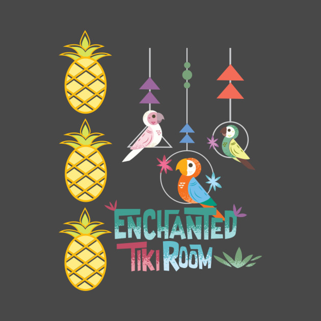 TeePublic: Enchanted Tiki Room