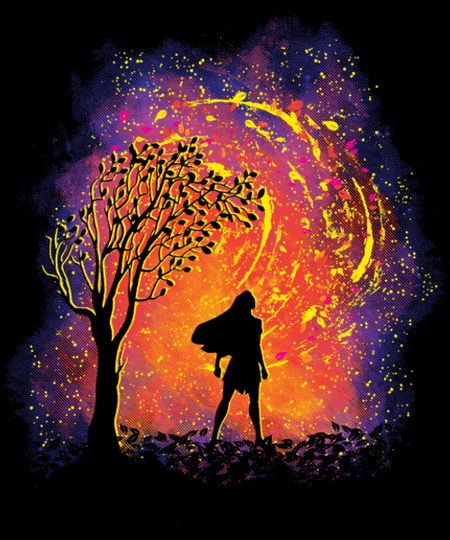 Qwertee: Colours Of The Wind