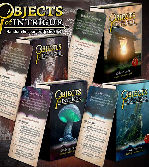 teeVillain: Objects of Intrigue