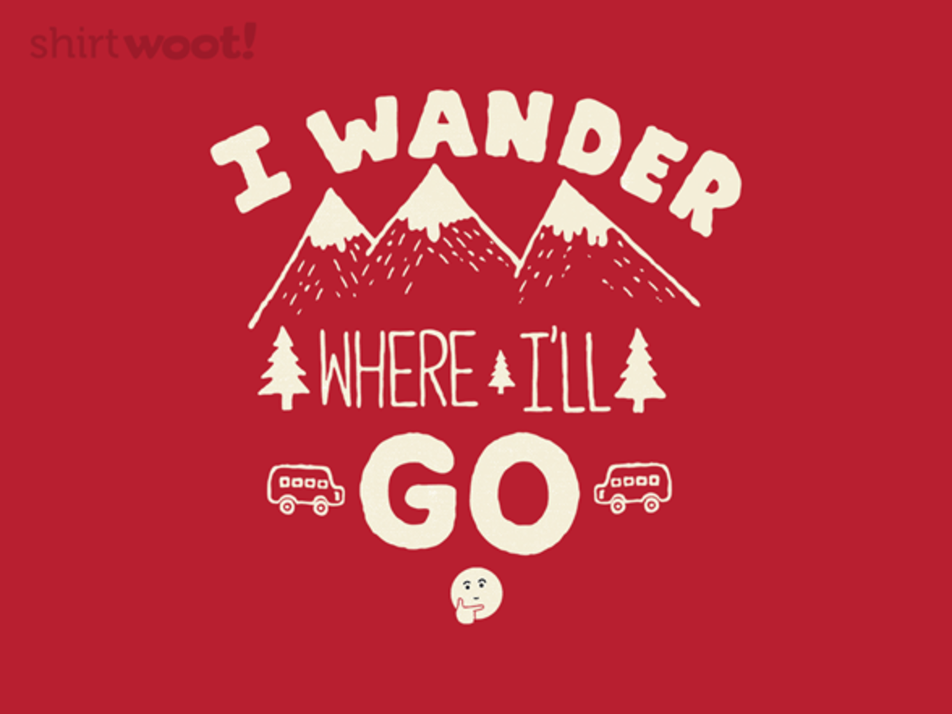 Woot!: I Wander - $8.00 + $5 standard shipping