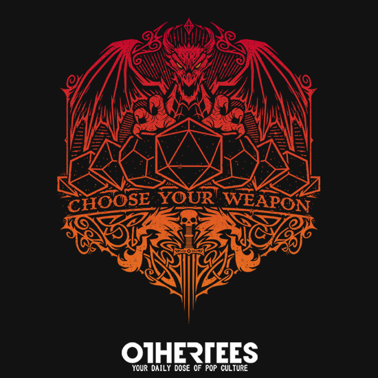 OtherTees: Choose Your Weapon