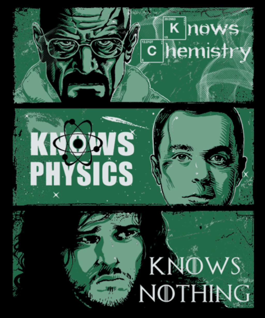 Qwertee: Knowledge Rules