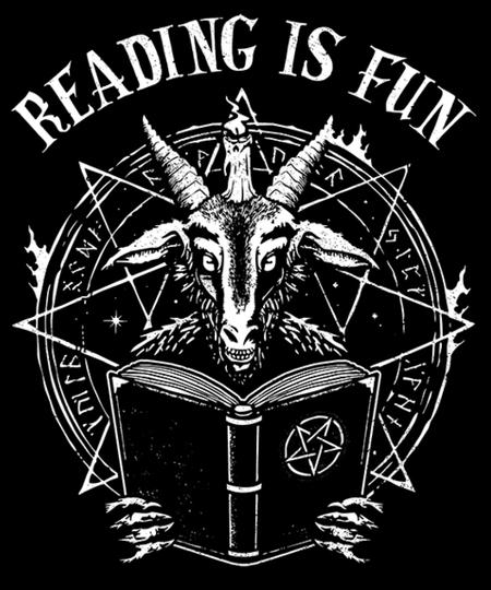 Qwertee: Reading Is Fun
