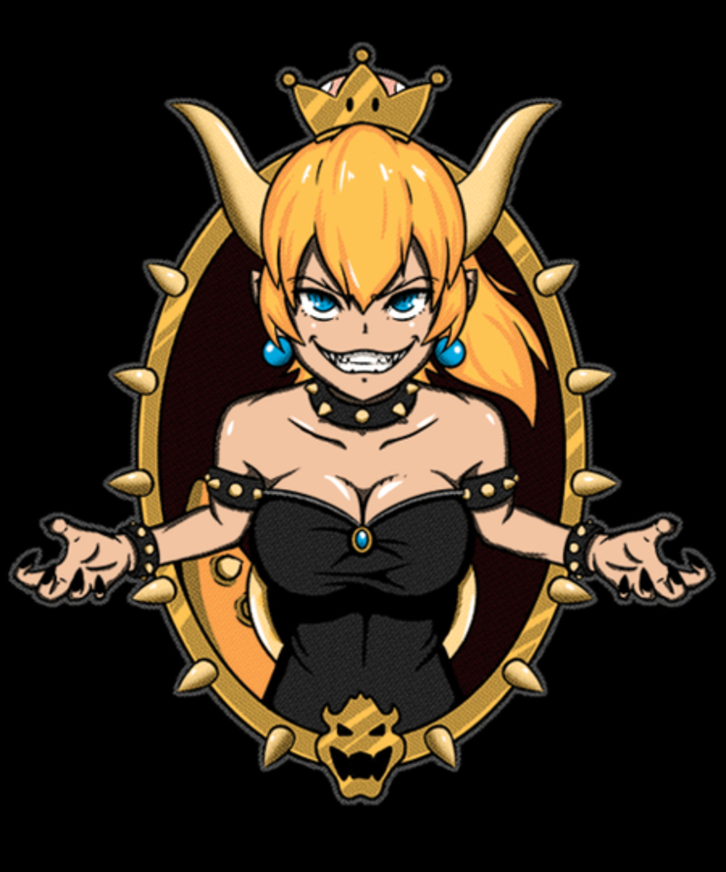 Qwertee: Koopa Queen