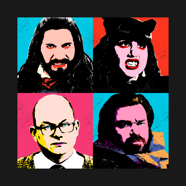 TeePublic: Vampire Warhol