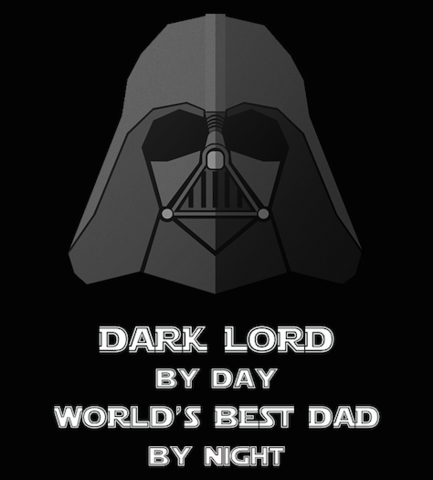 Shirt Battle: Dark Lord Best Dad