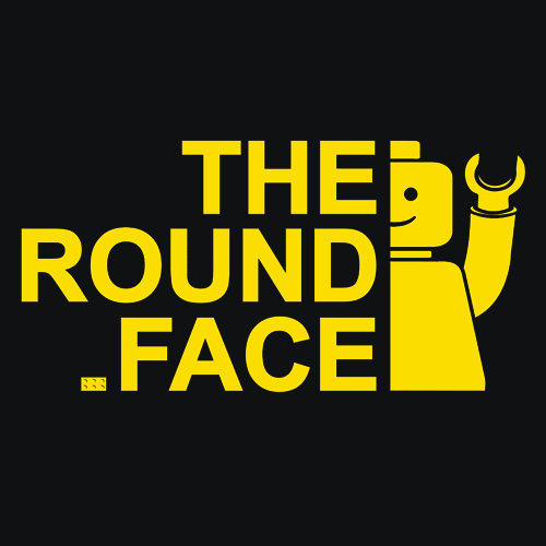 Textual Tees: The Round Face