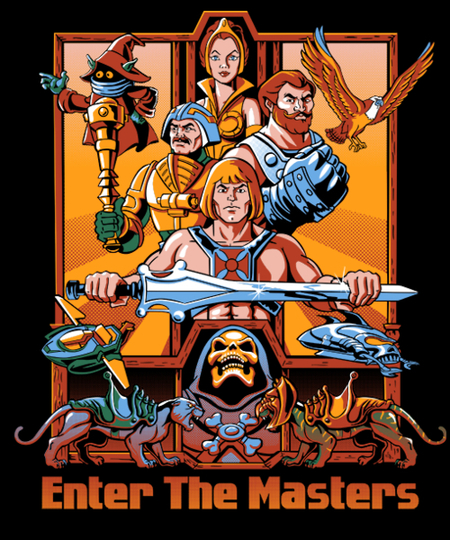 Qwertee: Enter The Masters