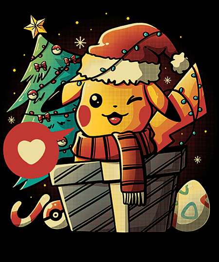 Qwertee: Electric Gift
