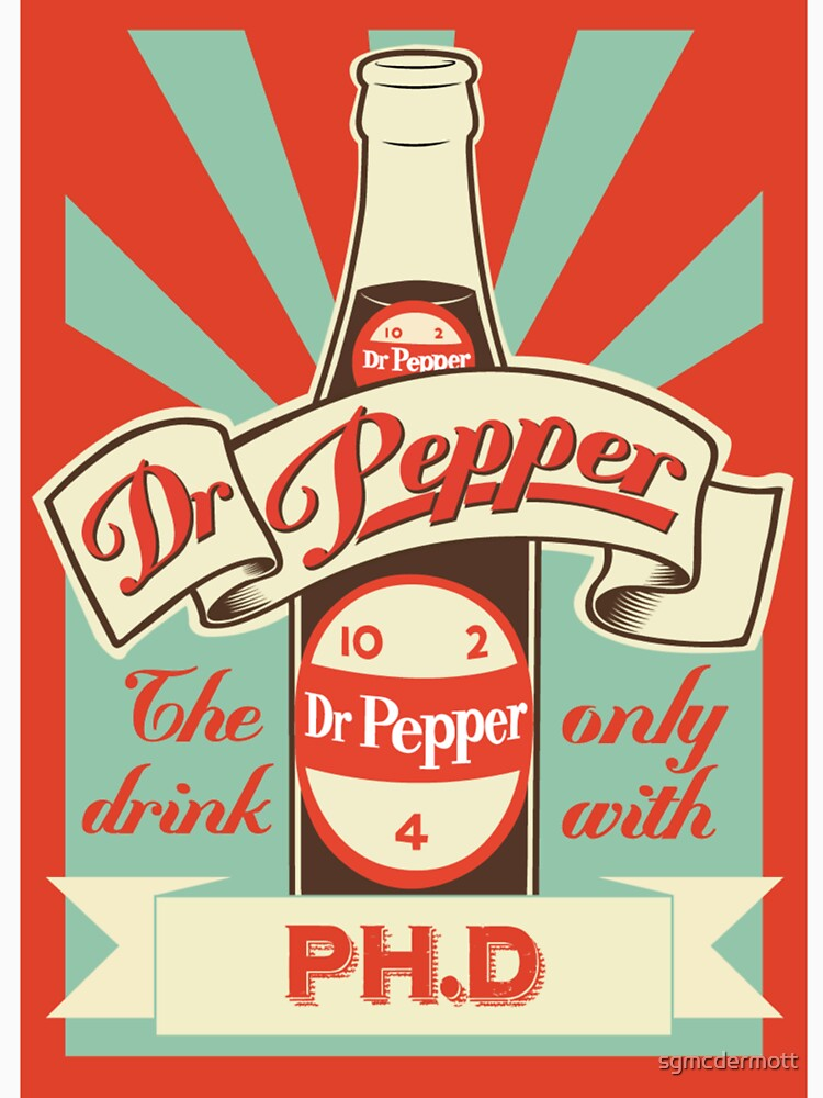 RedBubble: Dr. Pepper Vintage