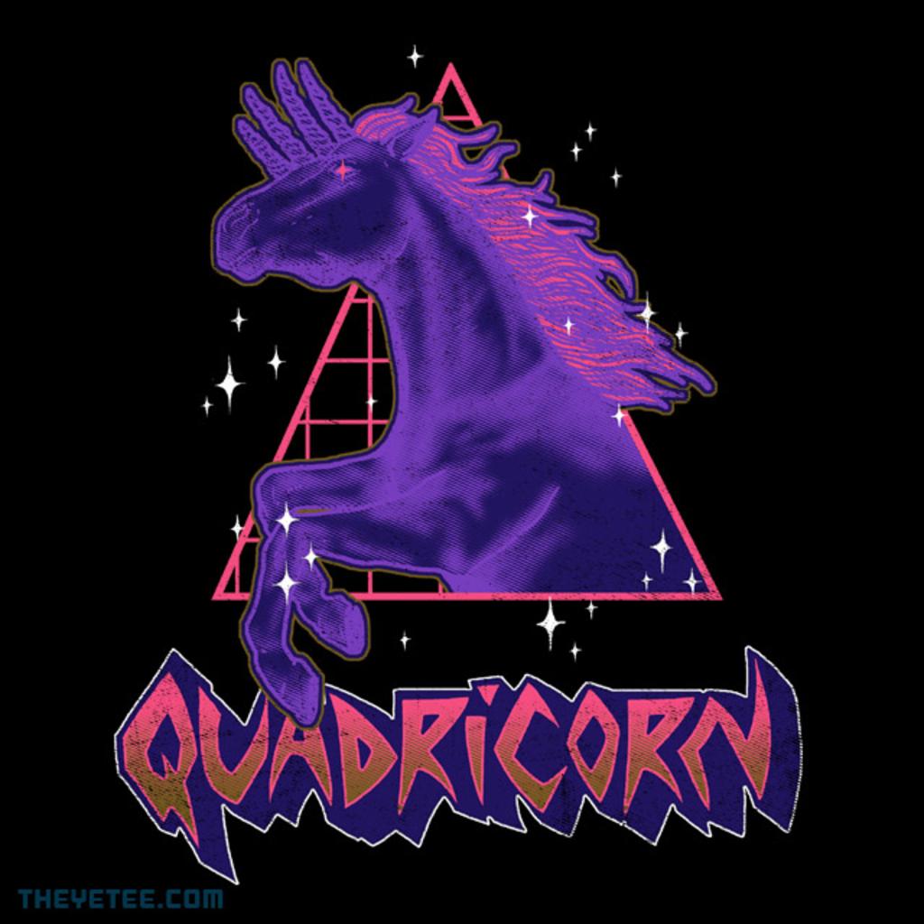 The Yetee: Quadricorn