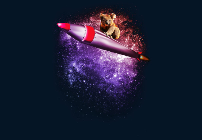 Design by Humans: Surfing On A Rocket