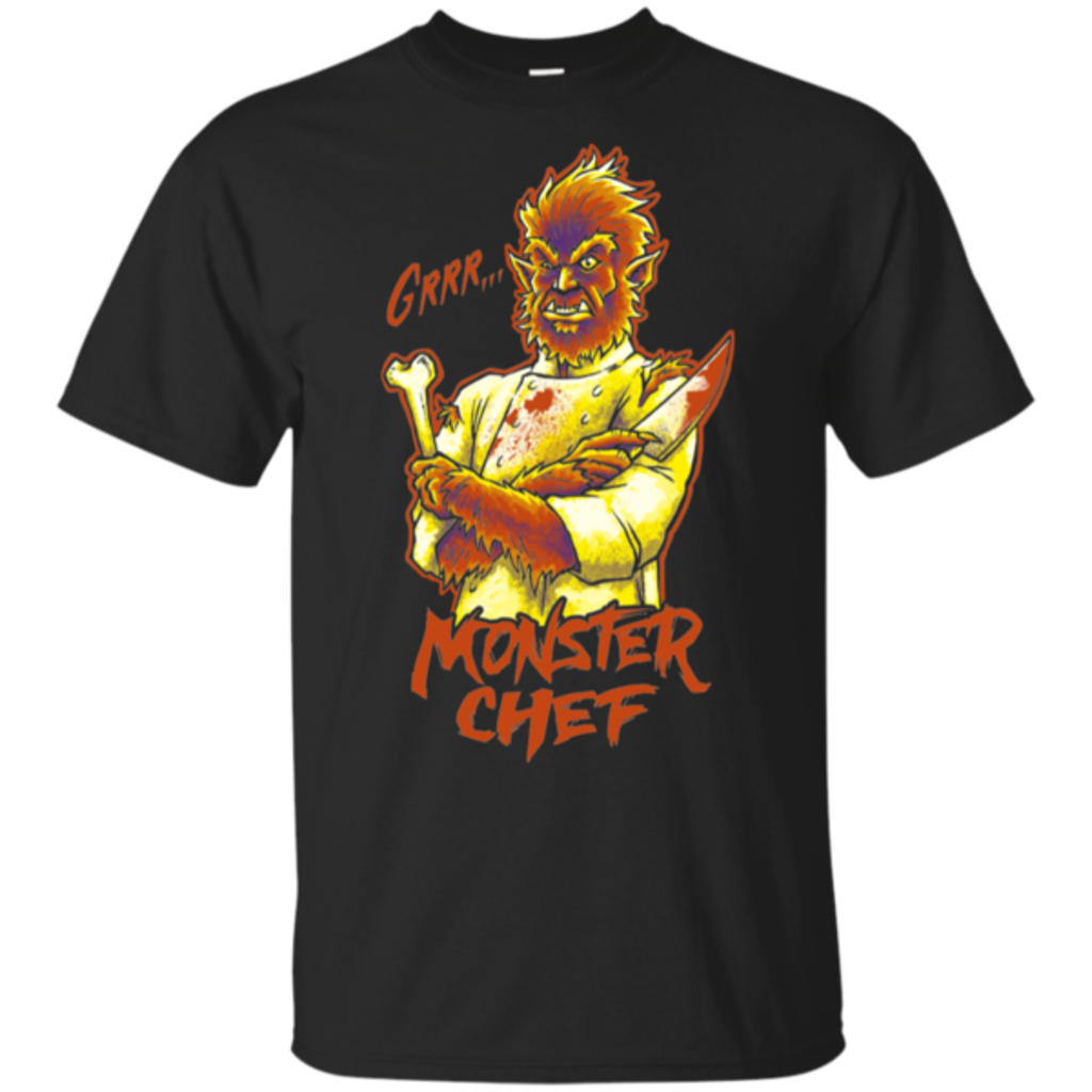 Pop-Up Tee: Monster Chef