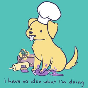 TeeTurtle: I Have No Idea What I'm Baking