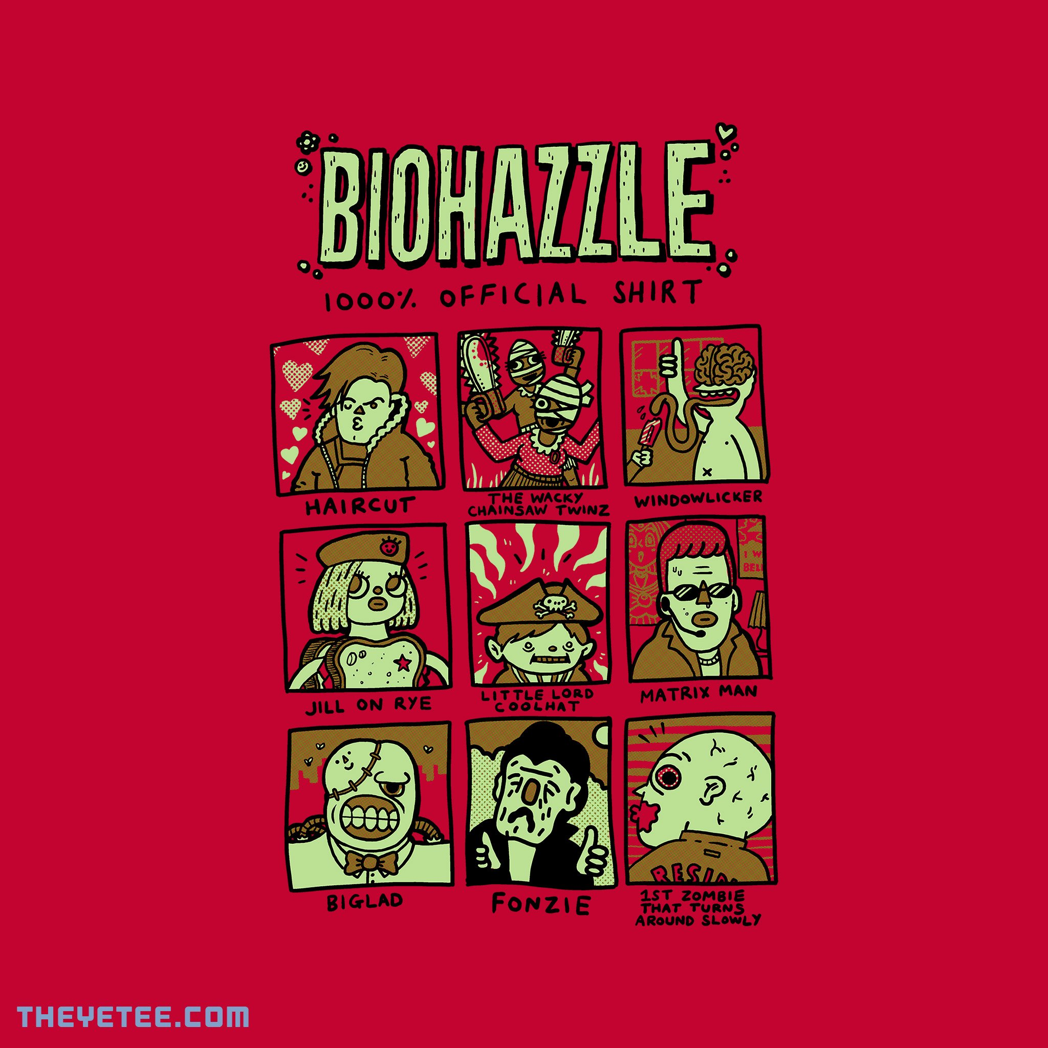 The Yetee: Biohazzle 1000% Official Shirt