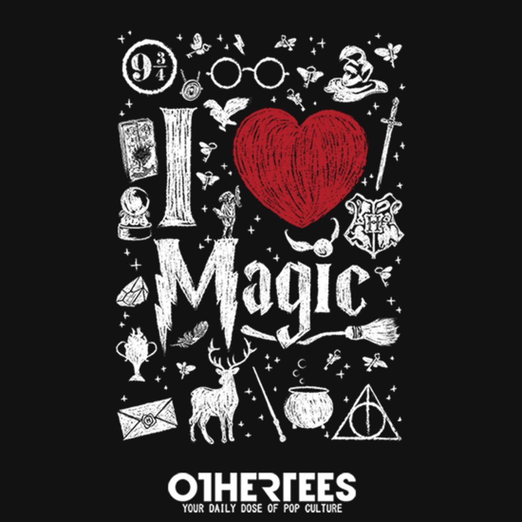 OtherTees: I love Magic