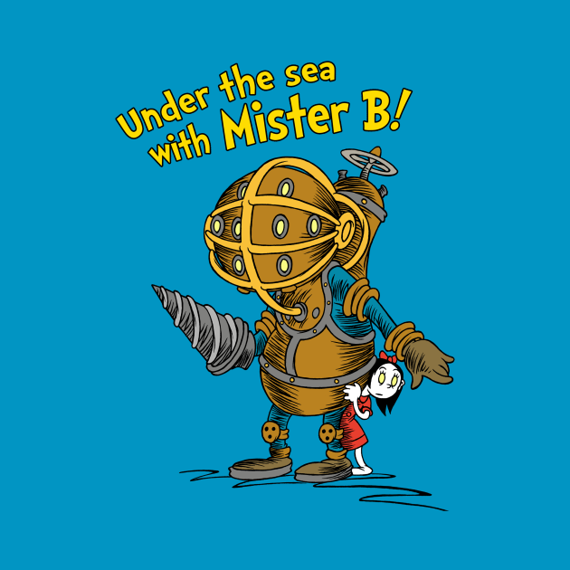 TeePublic: Under The Sea With Mister B!