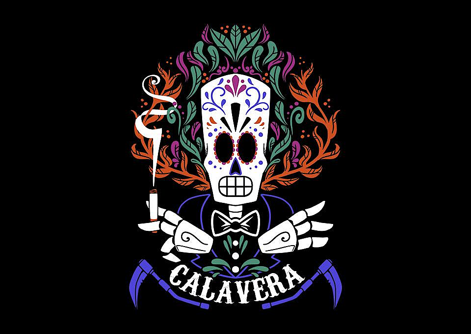 TeeFury: Calavera